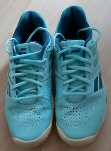 BABOLAT Ladies PRO-SHIELD TENNIS TRAINERS SHOES Size 5.5 UK Blue Green Turquoise