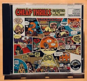 Janis Joplin, Big Brother & the Holding Company - Cheap Thrills - CD - sehr gut