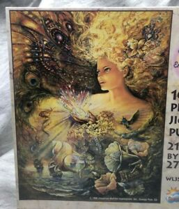 1996 1000 pc Jigsaw Puzzle New Sealed Crystal of Enchantment by Josephine Wall