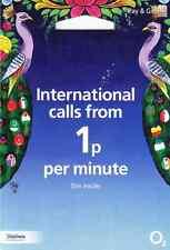 UK o2 UFFICIALE Sim Card con credito £ 30 (tutte le taglie, NANO, MICRO E STANDARD)