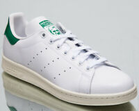 adidas Originals Stan Smith Men's New White Green Lifestyle Sneakers BD7432