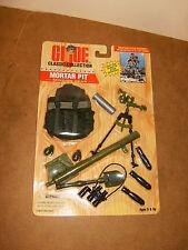 "G.I. JOE Classic ( 12"" / 30cm ) - MORTAR PIT Mission Gear set - 1996"