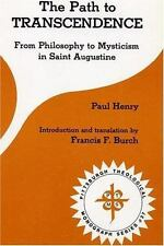 The Path to Transcendence: From Philosophy to Mysticism in Saint Augustine (Pitt