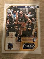 2019-20 Panini Chronicles Threads #77 Eric Paschall Rookie RC Warriors