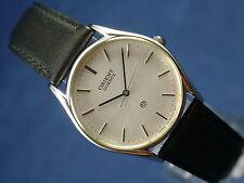 Orient Cuarzo Reloj de Caballeros Vintage Circa 1980s nuevo viejo stock nos