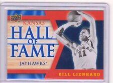 2013 Upper Deck Kansas Jayhawk Hall of Fame #HOF8 Bill Lienhard SP Mint KU