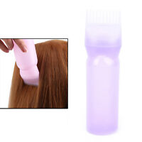 120ML Hair Dye Bottle Applicator Comb Dispensing Salon Hair Coloring Dye WGJ ez