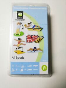 New Cricut All Sports Shapes Cartridge Factory Sealed