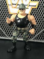 SGT SLAUGHTER WWF Hasbro Vintage Wrestling Action Figure WWE