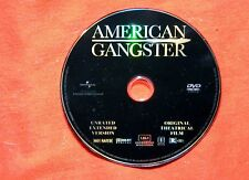 BARE DISC ONLY American Gangster WS DVD Unrated Extended Denzel Washington