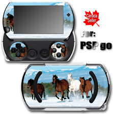 Horses Arts SKIN STICKER DECAL COVER for SONY PSP Go
