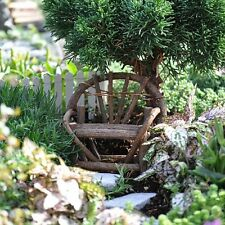 Miniature Bentwood Twig Love Seat Fairy Garden Gnome Village Art Decor Outdoor