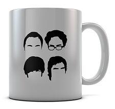 Big Bang Sheldon Heads Mug Cup Present Gift Coffee Birthday