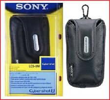 SONY LCS-UM BLACK Soft Leather Case for DSC-U50 Cybershot Original /Brand New