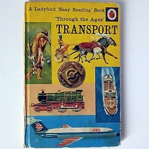 Ladybird - Through the Ages - Transport (Vintage Children's Book, 1970) Set 606F