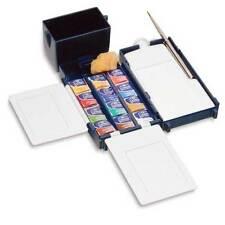 Winsor & Newton Cotman Watercolour Field Box Set with 12 Half Pans and Brush