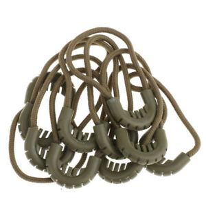 Lot of 10 Zipper Pull Cord Zip Puller Zip Fastener Rope Zip Slider Lock Ends