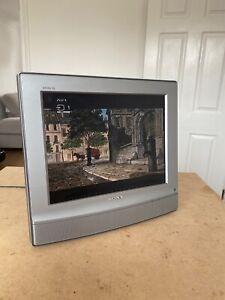 "Sony 15"" LCD TV - 15V - Freeview, Scart, VGA & AV - Tested - Retro Gaming TV"