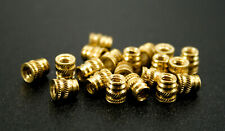 20x 6 32 Long Brass Metal Threaded Heat Set Inserts For Plastic 3d Printing Usa