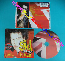 CD SID VICIOUS & FRIENDS Lives SEX PISTOLS 1999 ec BMG REDTK123(Xs5)no lp mc dvd