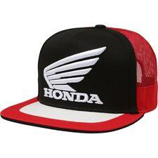 Cappellino Originale Fox Honda HRC Nero Rosso Ricamato Snapback Hat