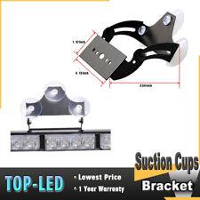 52023 For 24 28 32LED Traffic Advisor Strobe Light Bar Bracket With Suction Cups