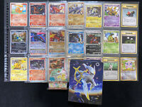 Pokemon binder album cards collection lot CharizardG holo 1stEd halfdeck lv.X Pt