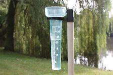 Green Tower Rain Gauge PLUVIOMETER Plastic Without Handle 25 X 8 5cm