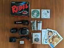 Canon EOS Rebel T3i / EOS 600D DSLR Camera w/18-55 IS II Lens + External Flash!