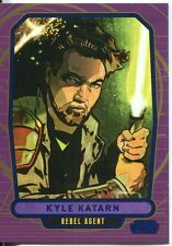 Star Wars Galactic Files Blue Parallel #184 Kyle Katarn