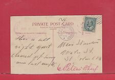 RARE St. John N.B. double oval DLO Dead Letter Office 1906 Halifax circle Canada