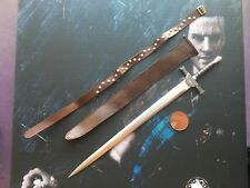 Kaustic Plastik Scottish Lord Connor MacLeod METAL Long Sword loose 1/6th scale