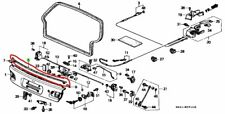 92-95 Honda Civic EG STEP GATE TAILGATE TRUNK WEATHERSTRIP SEAL EG3 EG4 EG5 EG6
