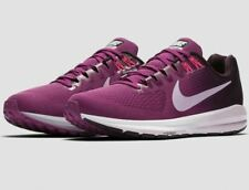 Nike Air Zoom Structure 21 Damen Laufschuhe Gr. 40, Berry Bordeaux 904701 605
