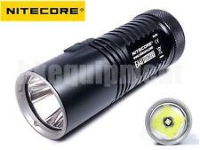 NiteCore EA41 2015 Pioneer CREE XM-L2 U2 Cool White CW 4x AA LED Flashlight