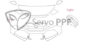 PreCut Ventureshield Ultra by 3M Clear Bra Kit for 17+ Honda Civic Type R
