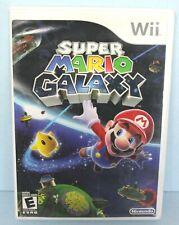 Super Mario Galaxy Nintendo Wii Video Game