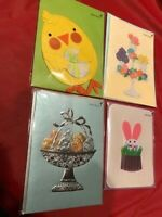 4 Assorted Easter Cards New /& Sealed Lot #1 Papyrus Cards High Quality