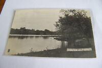 Rare Vintage Or Antique RPPC Real Photo Postcard M2 1907 Minnesota Lake View