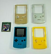 Working - Nintendo Gameboy Colour (Teal) Bundle - Game & Accessories