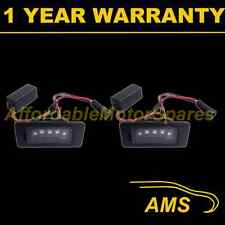 2X FOR VW PASSAT POLO JETTA ALUMINIUM 3 CREE WHITE LED NUMBER PLATE LAMPS