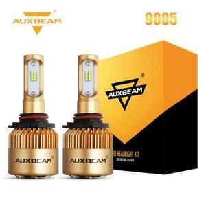 AUXBEAM 9005 HB3 CSP LED Headlight Kit 72W 8000LM Hi/Lo Beam Bulbs 6500K White