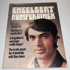 """ENGELBERT HUMPERDINCK"" magazine; 1970; VG; 100% Engelbert; .50c; 48 pgs; Dell"