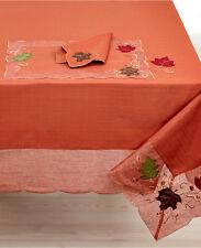 """Homewear Harvest Table Linens, Auburn Sheer 60"""" x 104"""" Tablecloth $90"""