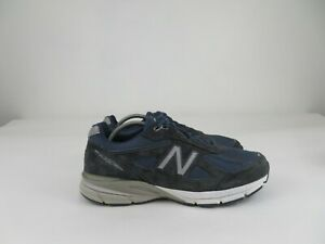 New Balance 990NV4 Running Walking Athletic Shoes Navy Blue Mens Size 11.5 4E