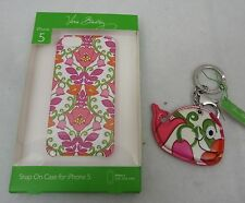 Vera Bradley I Phone 5 Snap On Case & Whale Keychain  Lilli Bell