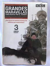BBC- Grandes Maravillas Construidas por el Hombre(2010) -3 DVD'S SET