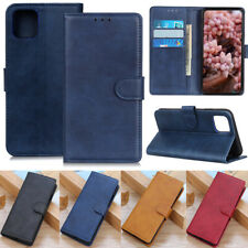 Deluxe Wallet Leather Flip Case Cover For Huawei P Smart 2021 Y5p Nova 5T Y6p