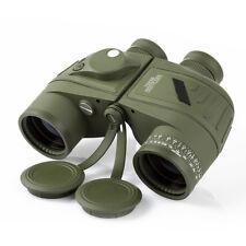 10x50 Navy Telescope Fogproof HD Binoculars with rangefinder Compass