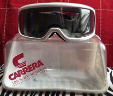 Vintage Carrera Ski/ Snowboard Snowmobile Adult Goggles 5045 White